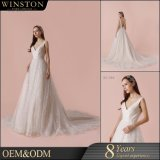 Новое платье венчания типа для женщин