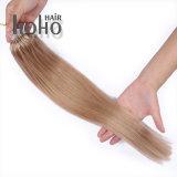 Remy cabelo loiro sujo 18 Polegadas Anel Micro Extensão de cabelo