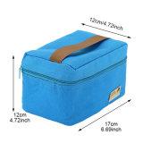 Saco impermeável do Thermal do alimento da caixa de Bento do pacote do piquenique do lazer do almoço do saco do refrigerador da cor portátil pequena prática dos sacos de gelo 4