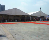Barraca de alumínio do armazém de armazenamento da estrutura com parede contínua