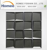 Стекло кухня серого стекла малых скошенной Мозаичное оформление