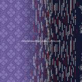 100%Polyester a dispersão da flor 3D imprimiu a tela para o jogo do fundamento