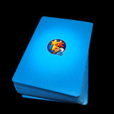 習慣によって印刷される280GSM中国の青いコア火かき棒のカード