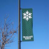 広告のための市道の柱の通りアルミニウム鋳造物の旗ブラケット(BT09)