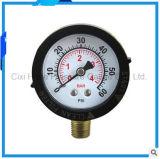 2inches Vibration-Proofオイルの満たされた圧力計