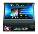 Uno DIN Car Audio Car Stereo reproductor de DVD con pantalla desmontable de 7pulg.