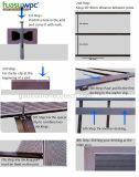Le WPC Corrosion-Resist Anti-Impact Port carte Composite Decking solide