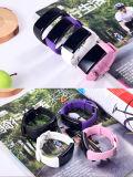 Reloj elegante de Bluetooth del reloj del teléfono celular de la pulsera del control de la presión arterial del reloj de Bluetooth de la pulsera D21 de la salud de la supervisión elegante del sueño