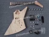 Guitarra do jogo da guitarra elétrica da guitarra do explorador de Pango/DIY/DIY (PEX-819K)