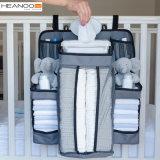 Heanooのおむつの記憶袋の赤ん坊の枕元のハングの養樹園のオルガナイザーの容器