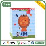Löwe-Kind-Spielzeug-Speicher-Kunst-überzogenes Geschenk-Papierbeutel