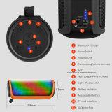 M4携帯用シリンダー多彩なLED Bluetoothスピーカーハンズフリーの呼出すAltavoz