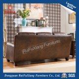Sofá de cuero de estilo europeo para la casa grande (N333)