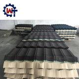 Bladen van het Dakwerk van het Aluminium van het Merk van Wante de Steen Met een laag bedekte in Nigeria