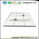 600*600 het vierkante Decoratieve Plafond van het Metaal van het Aluminium met 12 Jaar van de Ervaring