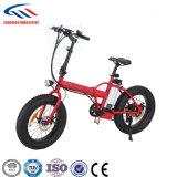 Lianmei que dobra a bicicleta elétrica com o pneu da gordura de 20 polegadas