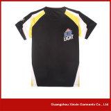 Camisetas al por mayor del algodón 180GSM de la buena calidad el 100% (R03)