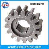 Estante de engranaje de acero del engranaje para el alzamiento de la construcción en los ejes impulsores