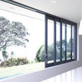 Finestra di alluminio di vetro della stoffa per tendine di vetratura doppia
