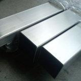 Tubo de acero inoxidable rectangular soldado SUS316 de JIS