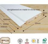 Panneau chinois de Moding de mur de décor de sapin gravé en relief par amorce en bois de bois de charpente