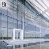 De moderne BuitenPrijs Van uitstekende kwaliteit van de Gordijngevel van het Glas van de Steun van het Punt van de Voorzijde