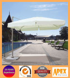 Sombrilla al aire libre giratoria del paraguas del parasol romano del alumbre del paraguas de Roma