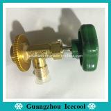 Piezas de equipos de refrigeración del grifo de Latón de cobre válvula válvula de gas para R134A R12 CT-339 CT-338