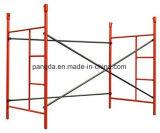 Het lopen hoewel de Steiger van het Frame/het Systeem van de Steiger van het Frame