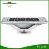 La luz y la inducción de 16 LEDs infrarrojos de pared de luz solar jardín