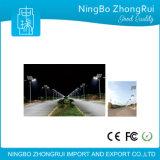 O fabricante aplicou-se em 105 países 5 anos de efeito da garantia igual à luz de rua solar do diodo emissor de luz da lâmpada 60W de 250W HPS