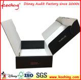preço de fábrica logotipo impresso personalizado caixa de expedição de papelão ondulado