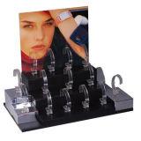 Qcy 공장 직매 상점을%s 주문을 받아서 만들어진 투명한 아크릴 시계 전시
