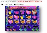 Super Pot partij-20 Lijn  Het Gokken van de Machine van het Spel van de Machine van het Spel van de groef Muntstuk In werking gestelde Machine