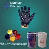 Borracha de silicone líquida LSR para testes padrões na matéria têxtil, peúgas do revestimento ou da impressão