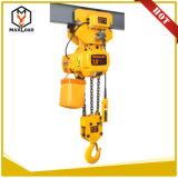 grua 7.5t Chain elétrica trifásica com gancho