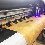 Xuli 인쇄 기계 1.8m 2.5pl Xaar 광고업을%s 1201년 Printhead 큰 체재 잉크 제트 인쇄 기계 Eco 용해력이 있는 인쇄 기계