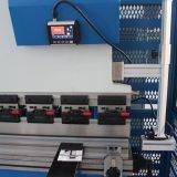 machine à cintrer de feuillard de 10 millimètres, frein de presse hydraulique de commande numérique par ordinateur 200 tonnes de capacité, machine à cintrer de tôle de 10mm, machine à cintrer de plaque hydraulique 4000 millimètres