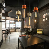 セメントが付いている夕食部屋の照明シャンデリアのペンダント灯