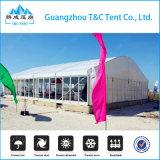 Прозрачный шатер хранения PVC шатёр кривого с размерами и формами