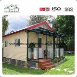 Venda a quente Prefab Projeto da China Austrália Aço Luz de estilo villa Strucutre Casa prefabricadas