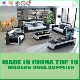 Base di sofà sezionale genuina di legno moderna del cuoio dello strato