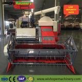 máquina segadora 4lz-5.5 con el tanque grande del arroz para la venta