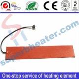 Calefator elétrico da borracha de silicone do elemento de aquecimento com controle de temperatura