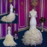 새로운 디자인 상한 Handmade 인어 신부 복장 웨딩 드레스