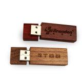 Bambú de madera de la insignia de Ustomer USB + palillo del USB del palillo de la memoria del USB 3.0 Pendrive 8GB 16GB 32GB 64GB del mecanismo impulsor del flash del USB del rectángulo