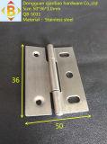 木製ボックスステンレス鋼のヒンジ