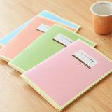 熱い販売の縫う糸の文房具のノートの演習帳の印刷