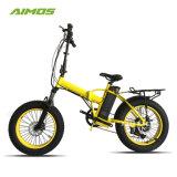 Bicicleta elétrica de dobramento 250W Foldable 750W do pneu gordo da bicicleta de E