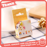 Material de oficina colorido 2017 Impreso personalizado papel washi Tape